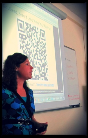 QR in use
